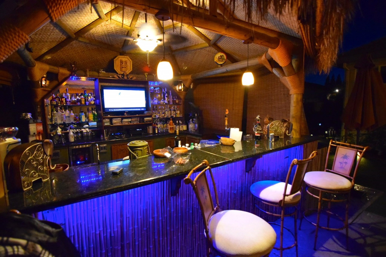 Backyard bar, palapa bar, cantina, tiki hut, party yard ... on Palapa Bar Backyard id=29101