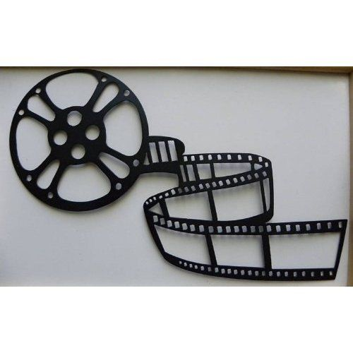 Home Theater Decor Movie Reel And Film 21 Metal By Jnjmetalworks 39 99 Movie Room Decor Home Theater Decor Movie Decor