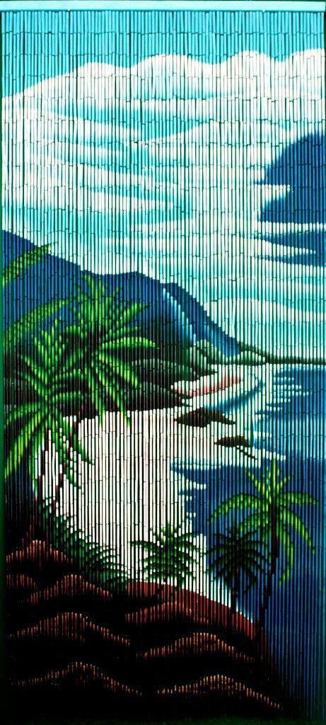 Hawaiian Coast Doorway Beads Bamboo Curtains Beaded Curtains