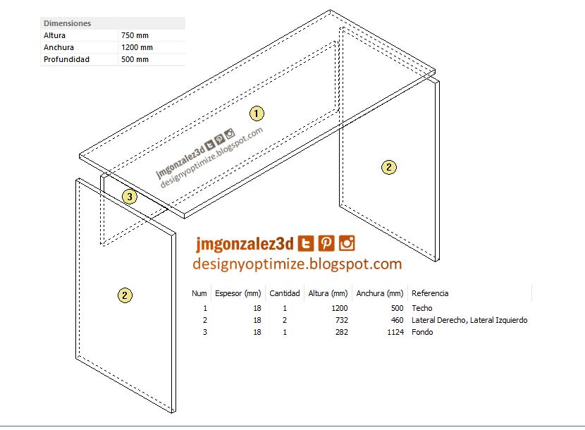 Crear escritorio minimalista. Diseños de cocinas, armarios y muebles ...