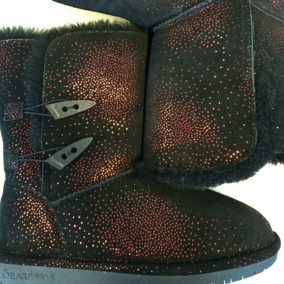 Bearpaw sparkle boots | Boots, Bearpaw