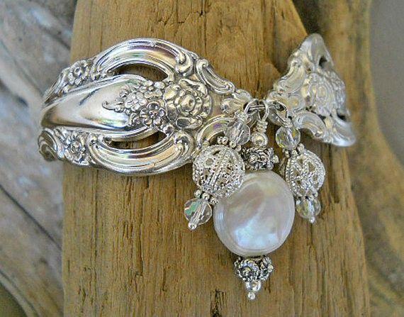 Vintage spoon bracelet..... I got on as a wedding gift. I love it!