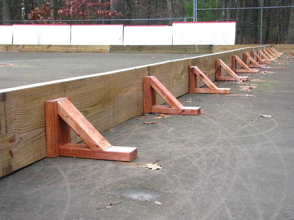 backyard hockey brackets   Backyard hockey rink, Backyard ...