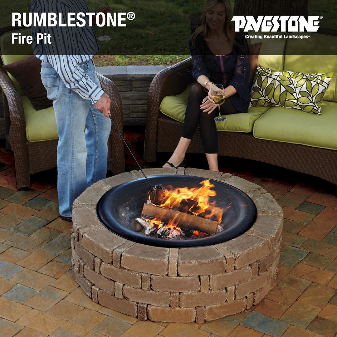 Rumblestone Fire Pit Diy Fire Pit Diy Fire Pit Cheap Patio Fire Pit