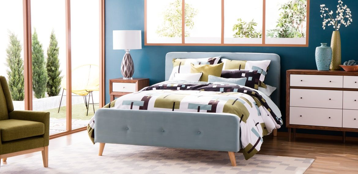 Best Cheap Mid Century Modern Home Decorating Ideas Bed 400 x 300