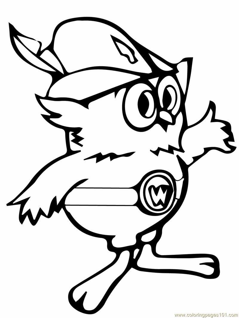 Woodsy Owl Printable Coloring Page For Kids And Adults Owl