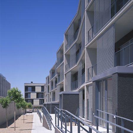 68 Social Housing By Magen Arquitectos Dezeen Social Housing Building Architecture