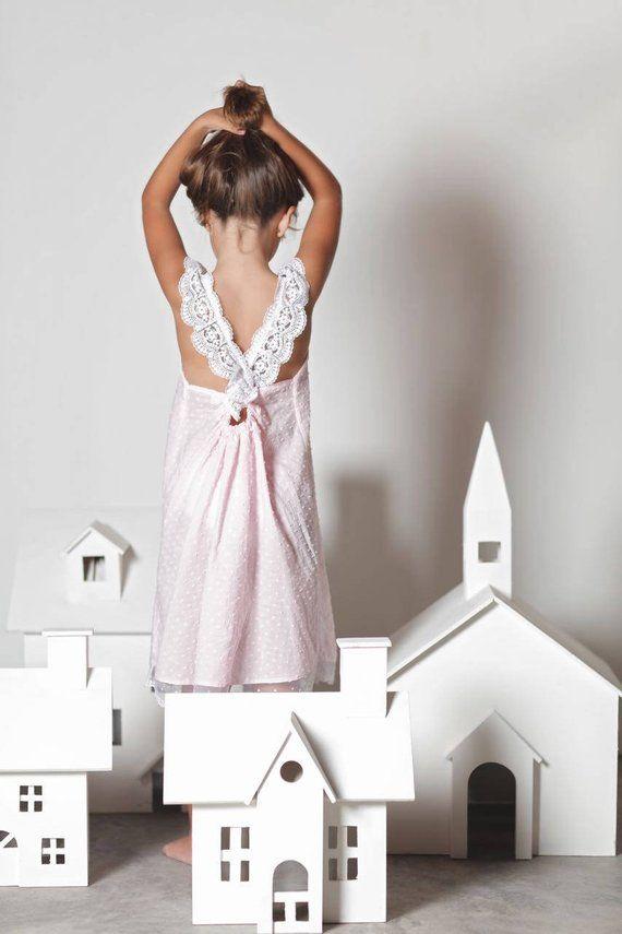 7f0b25d89 Girls Lace Nightgown . Girls Nightgowns . Girls Pajamas . Girls Pink ...
