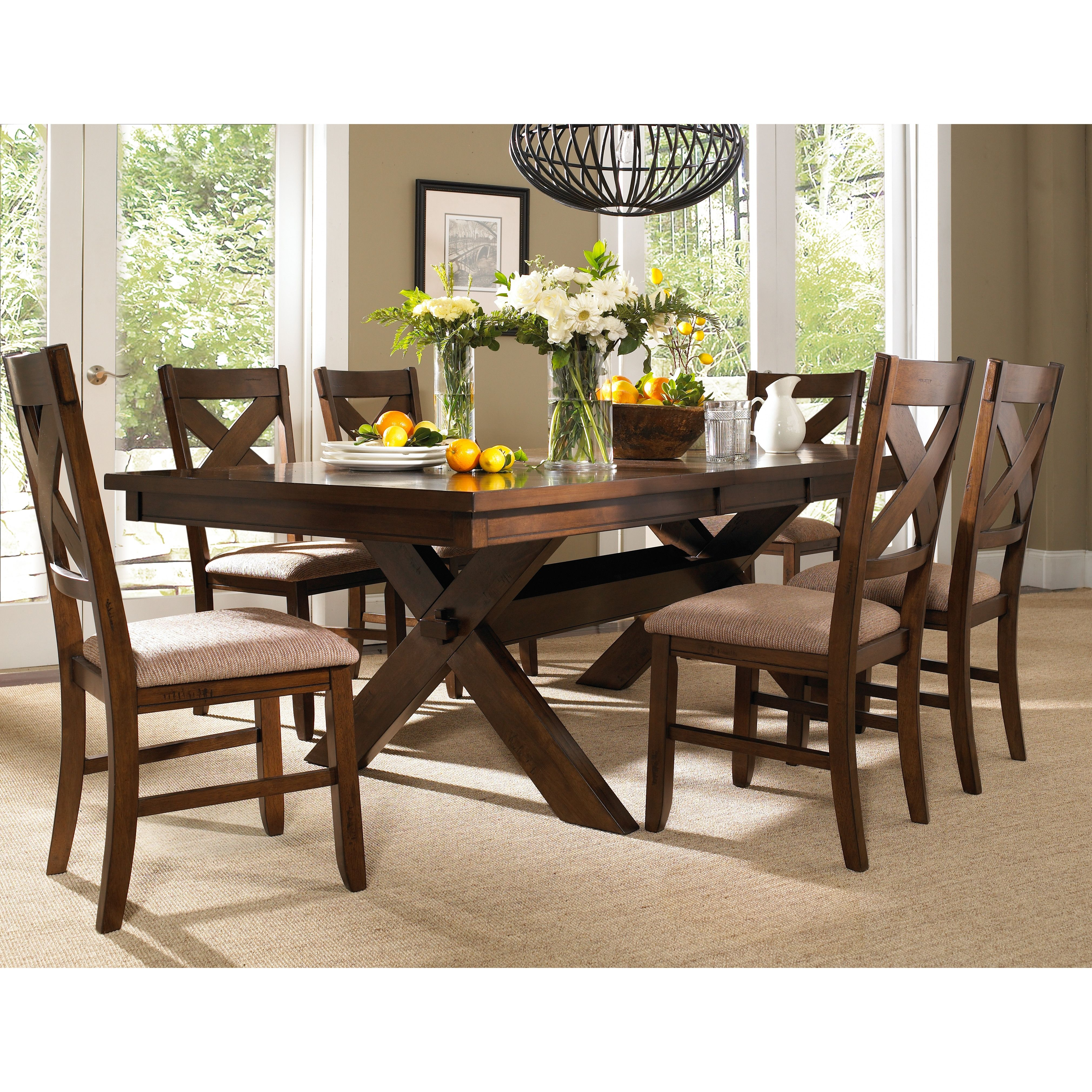 Isabell 7 Piece Dining Set | Modern farmhouse, Colors and Chairs