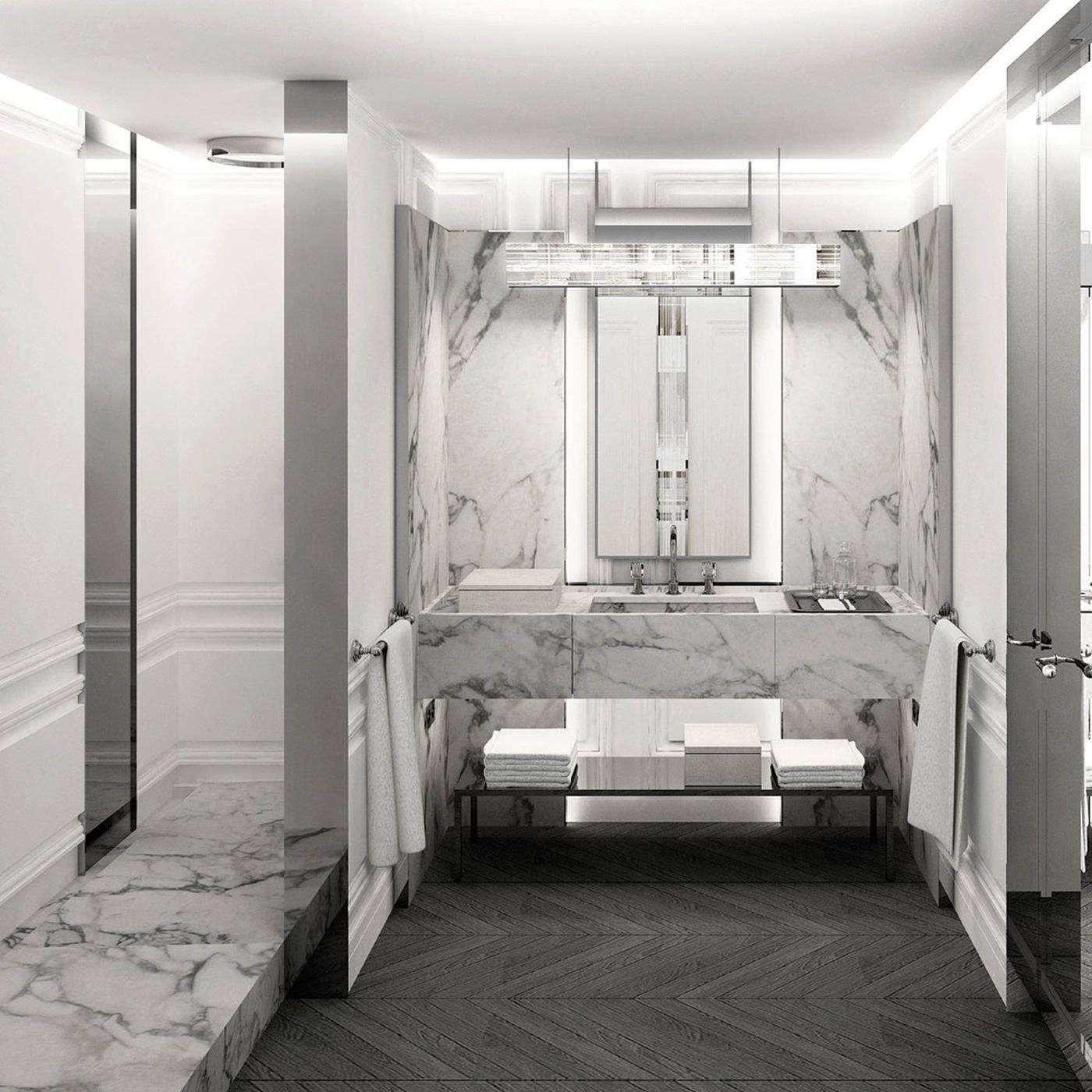 Baccarat Hotel | New York. Hotel Bathroom DesignHotel ...