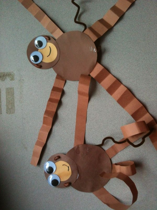 Rainforest Craft Ideas For Kids Part - 15: Howler Monkeys For Rainforest Theme @Sarah Chintomby Chintomby Chintomby  Ballard @Muriel Smith Smith Smith