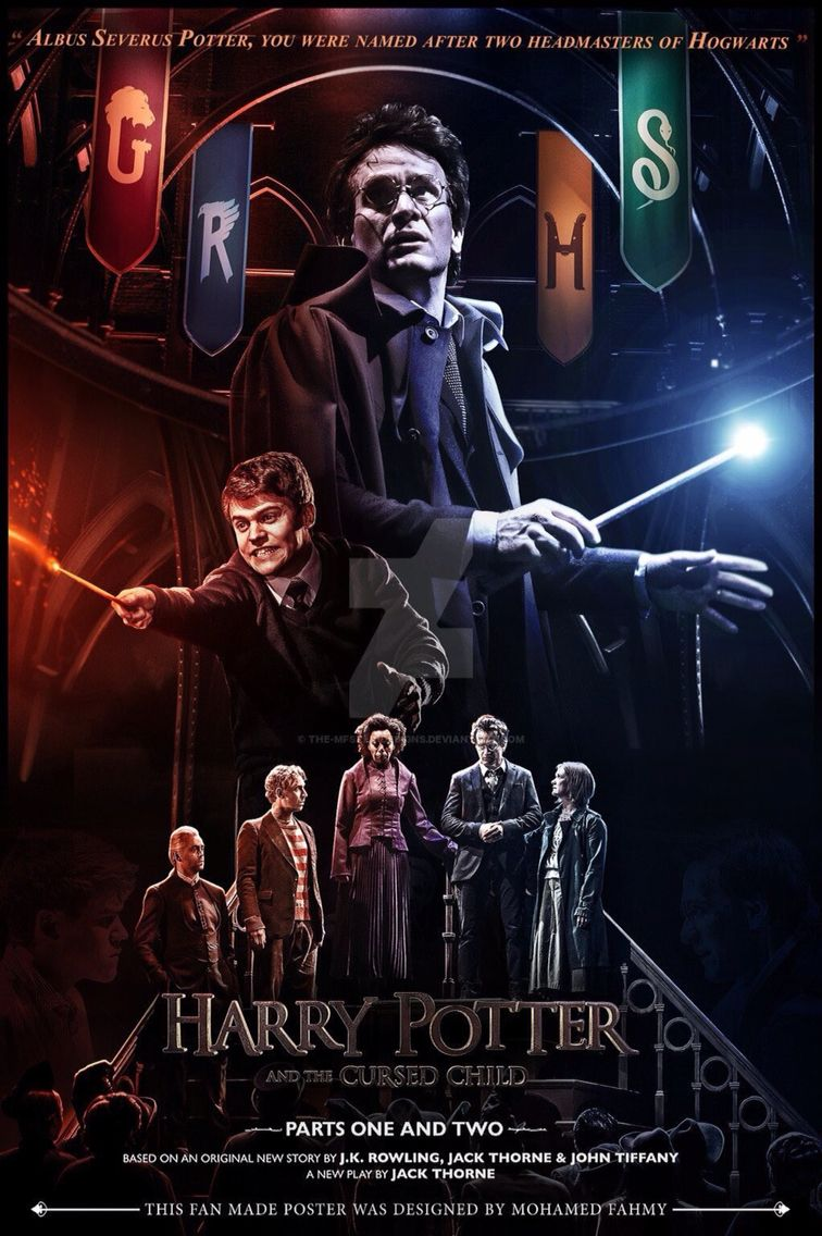 Fan Made Poster For The Cursed Child Harry Potter Cursed Child Harry Potter Curses Harry Potter Friends