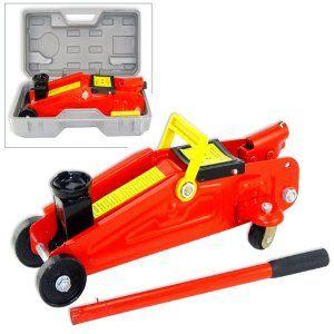 House Deals Floor Jack Hydraulic 2 Ton Car Jacks Mini Red 4000 LBS Capacity Lift Tool On Wheels