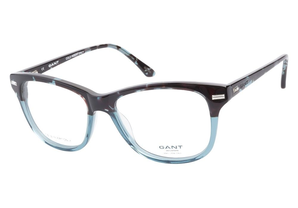 These Gant Woman Morgan Translucent Blue eyeglasses are luxuriously casual. This full acetate frame has a turquoise tortoise upper and semi-transparent blue lower with crystal studs adorning the top c from @CoastalDotCom