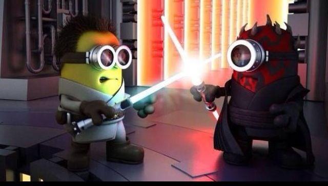 Minion Jedi Coolest Stuff Minions Minions Images Despicable