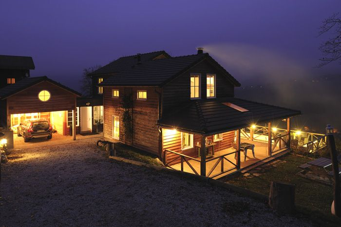 Maison de montagne avec une excellente isolation MOB Pinterest - qu est ce qu une maison bioclimatique