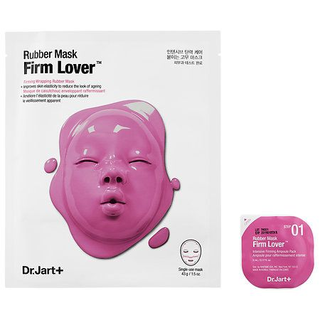 Dr. Jart+ Dermask Rubber Mask Firming Lover 1 Sheet Close Fit Easy Use Jason Natural Products - C Effects Pure Natural Super-C Toner - 6 oz. by JASON Natural Products (pack of 3)