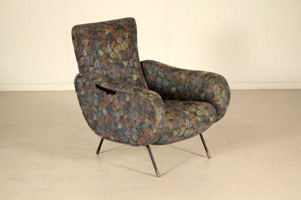 Sedie reclinabili ~ Poltrona con schienale reclinabile; imbottitura in espanso