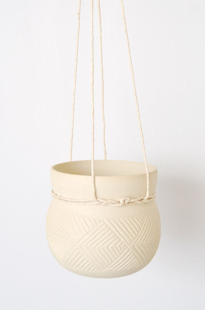 Cinched Hanging Planter by Koromiko