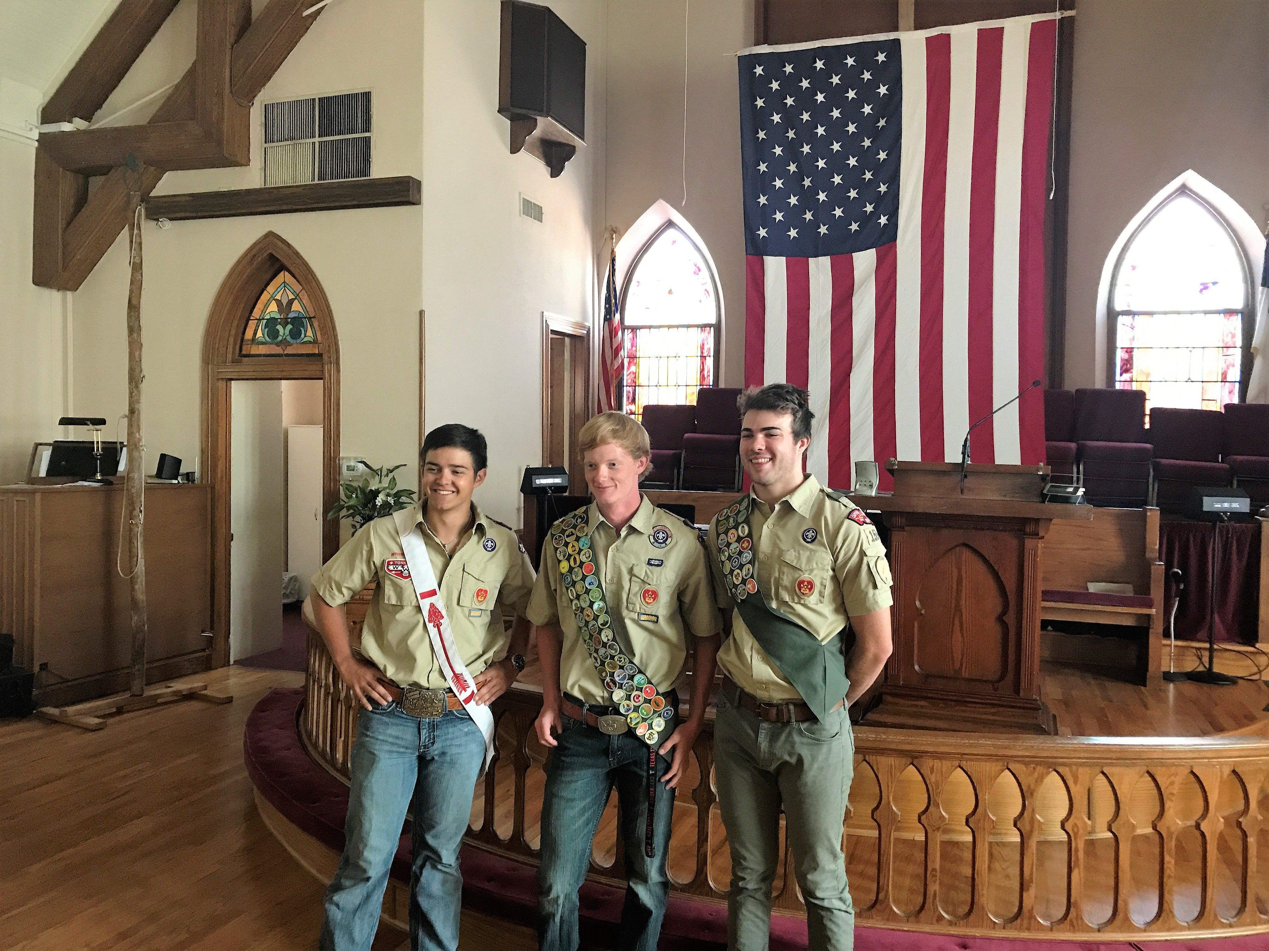Congratulations to our newest Eagle Scouts in Williamson