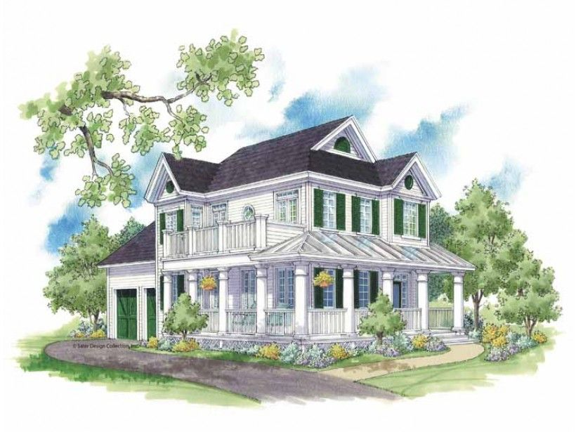 Country Style House Plan 3 Beds 2 5 Baths 2178 Sq Ft Plan 930 394 Luxury House Plans Country Style House Plans Country House Plans