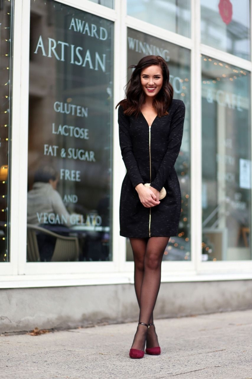 Fashion Pantyhose Outfits Miniskirt Outfits [ 1280 x 853 Pixel ]