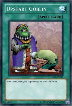 Upstart Goblin by kienctn15 | YU-GI-OH CARDS | Goblin, Cards