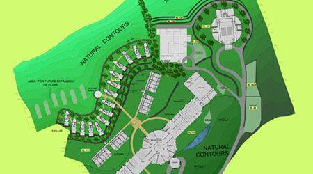 Master Plan Brigade Hill Resort India Resort Plan Resort Architecture Bali Architecture