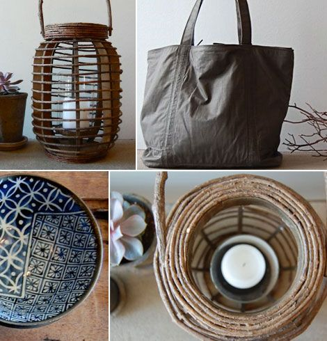 Love the wood lantern idea..nice decoration