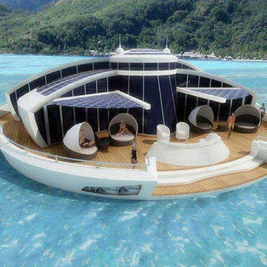 Floating villa.ANOTHER FLOATING DREAM HOME.