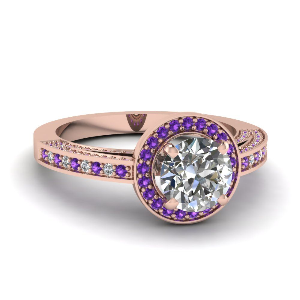 rose-gold-round-white-diamond-engagement-wedding-ring-with-violac-topaz-in-pave-set-FDENS3282RORGVITO-NL-RG