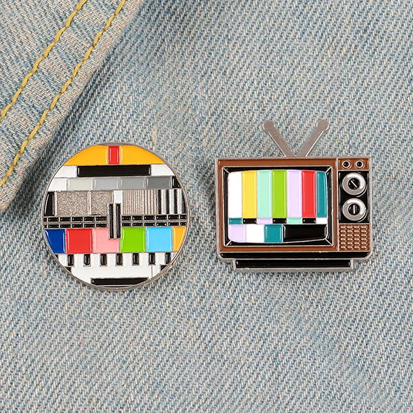 Bad Tv Pin Set