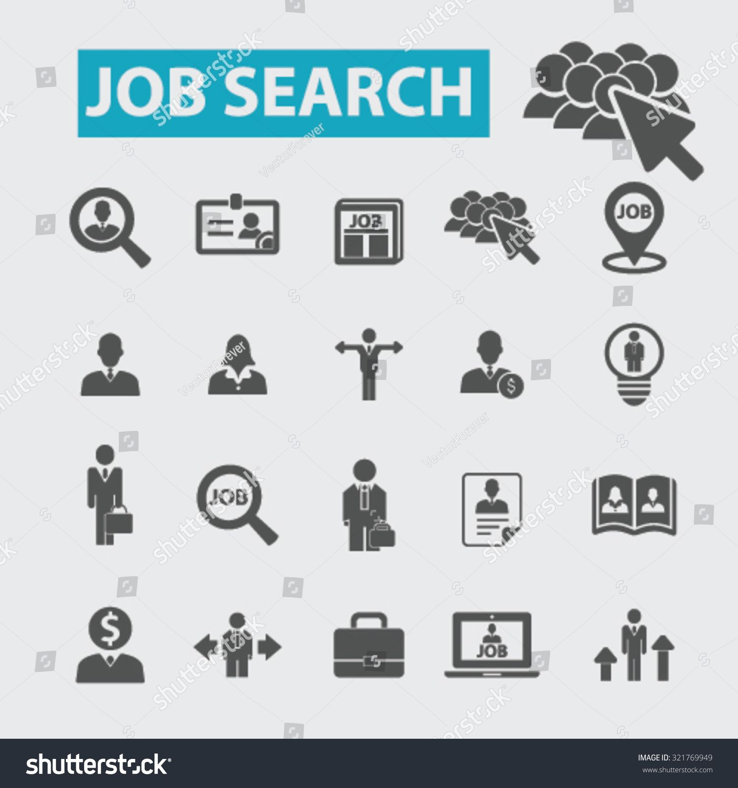 Job Search Icons Ad Advertisement Job Search Icons Search Icon Job Search Photoshop Elements