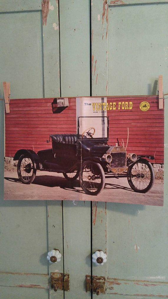 Sale Model T Ford Vintage Ford Magazine July by TheIDconnection ...