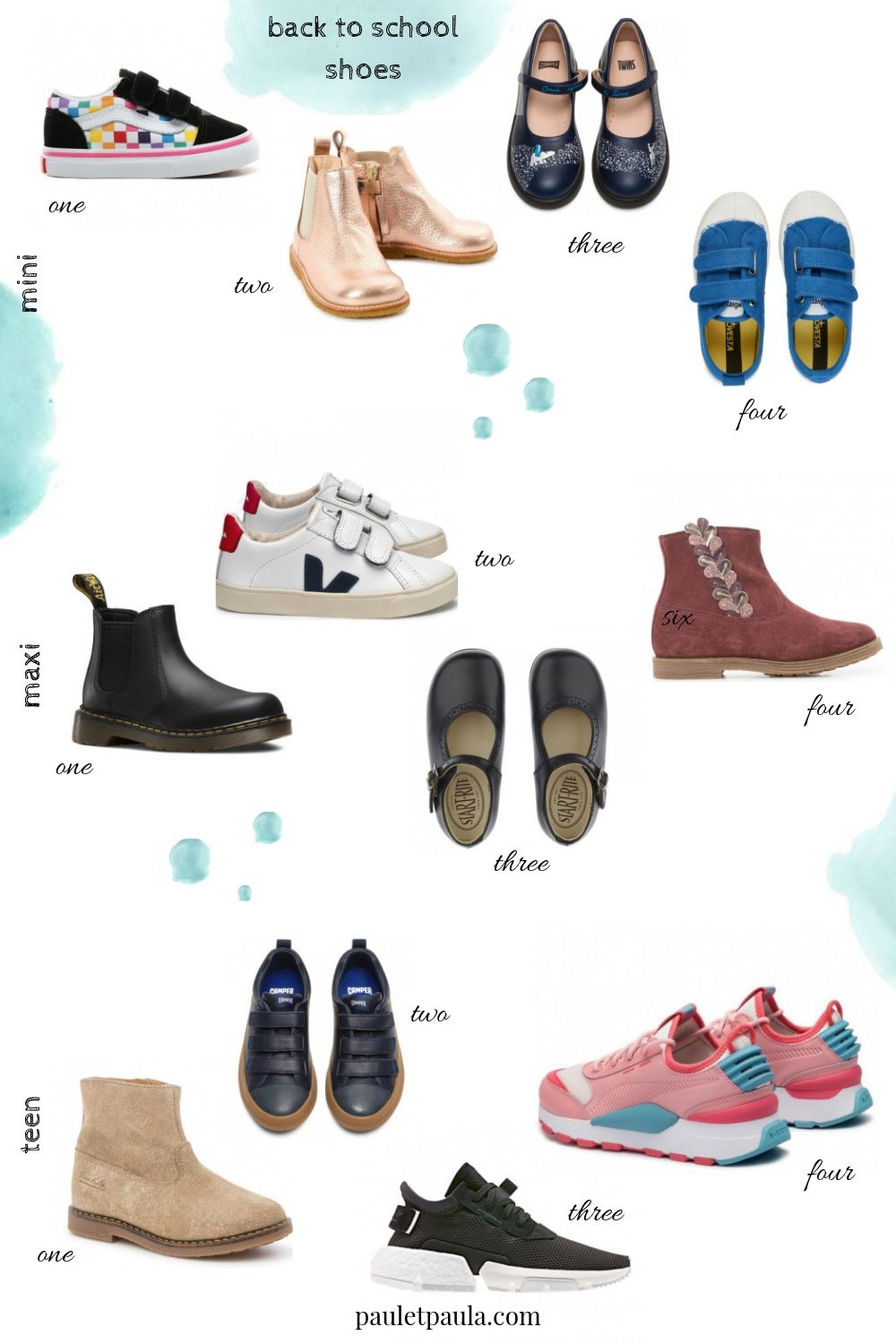 Back to School 2019 - shoes for mini
