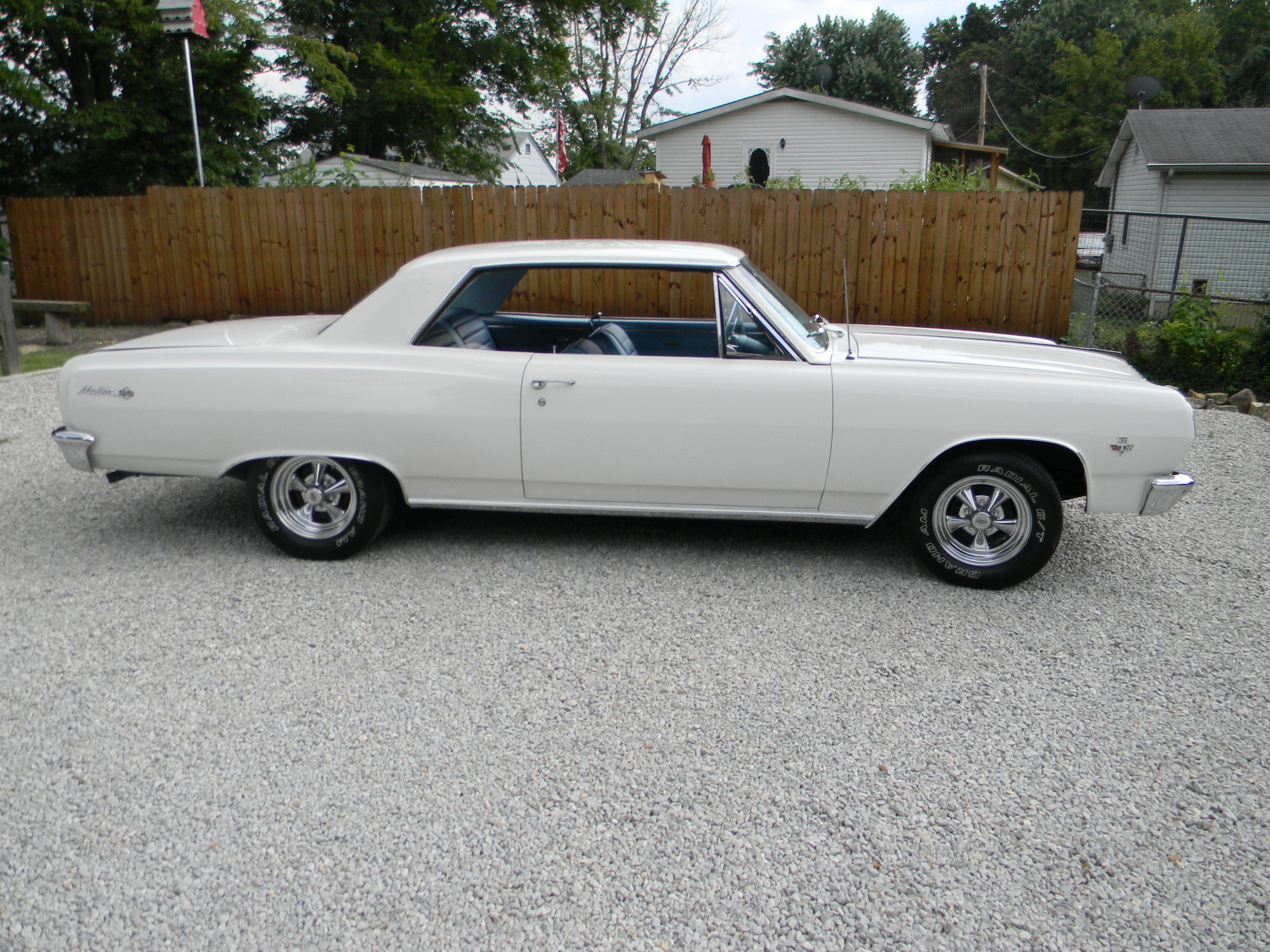 1965 chevelle malibu ss ermine white 283 cu with 4 bbl