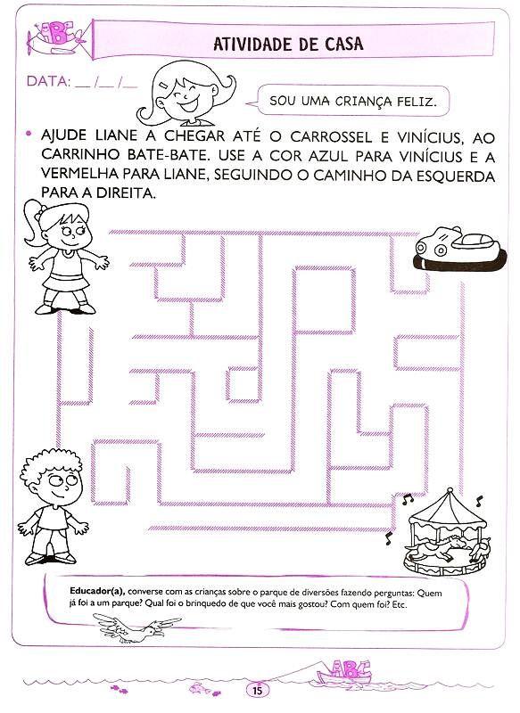 Letramento E Alfabetizacao 4 5 E 6 Anos Atividades De Casa