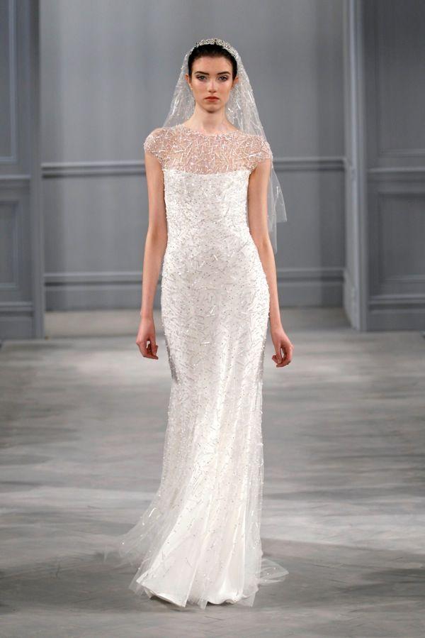monique lhuillier bridal spring 2014 celestial @christopher bride