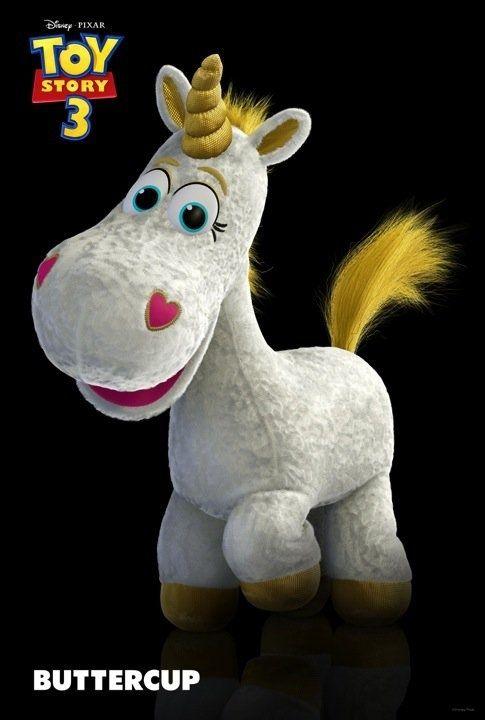 Toy Story 3′s Unicorn: Buttercup