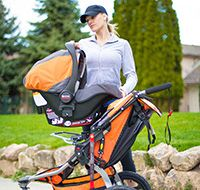 Create A Complete Travel System With Matching BOB B Safe Infant Car Seats