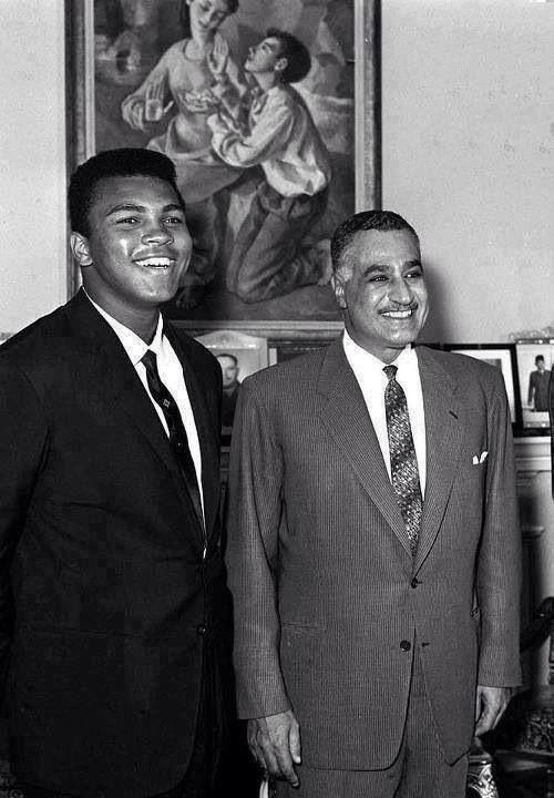 محمد علي كلاي وجمال عبدالناصر Gamal Abdel Nasser Egypt History Egyptian History