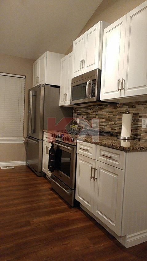 Best Gramercy White Kitchen Cabinets After Kitchen Upgrade 640 x 480