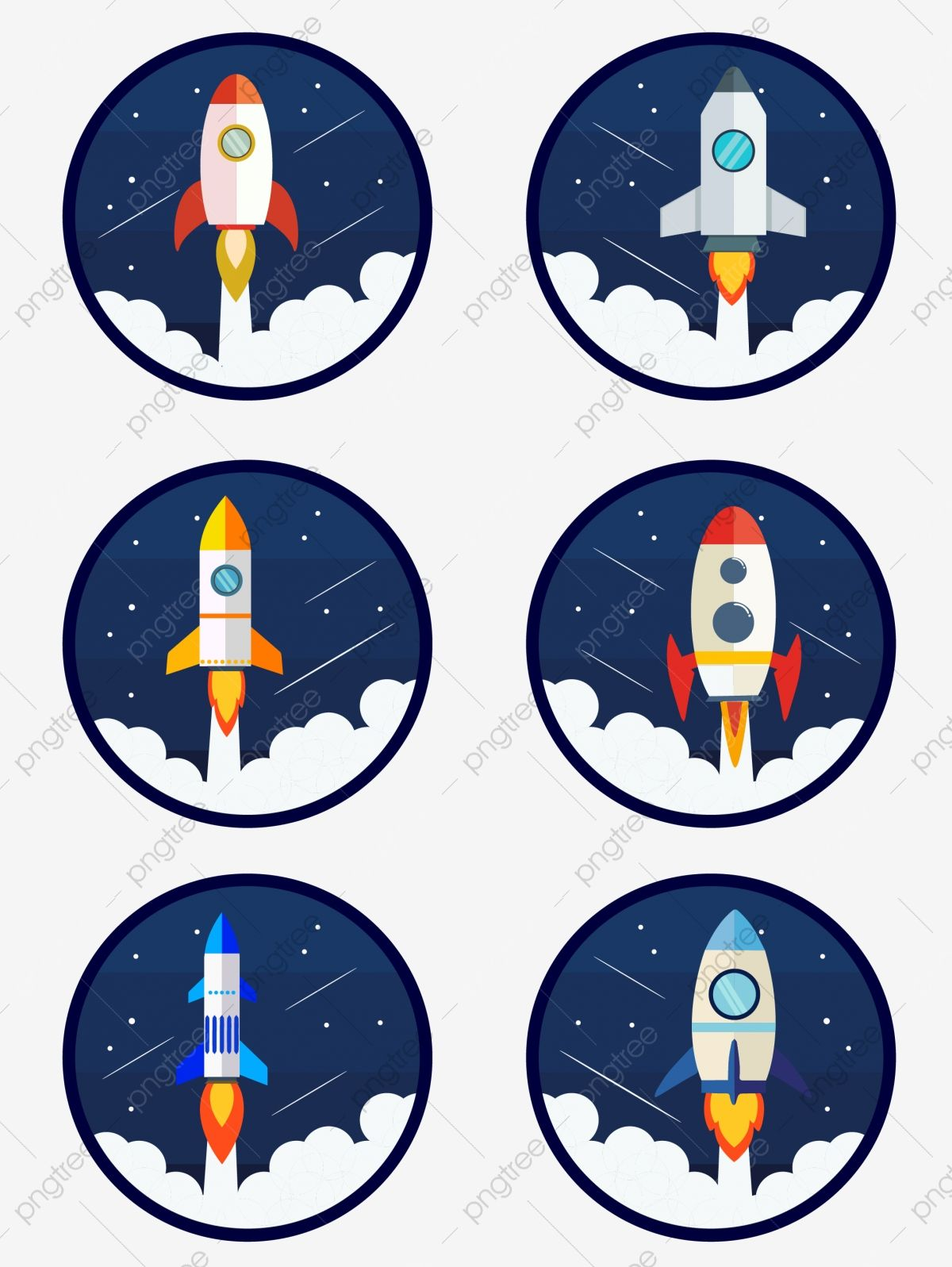 Simple Fashion Spaceship Rocket Aviation Equipment Cartoon Icon Element Spaceship Rocket Cartoon Png And Vector With Transparent Background For Free Download Cartoon Icons Rocket Cartoon Simple Cartoon