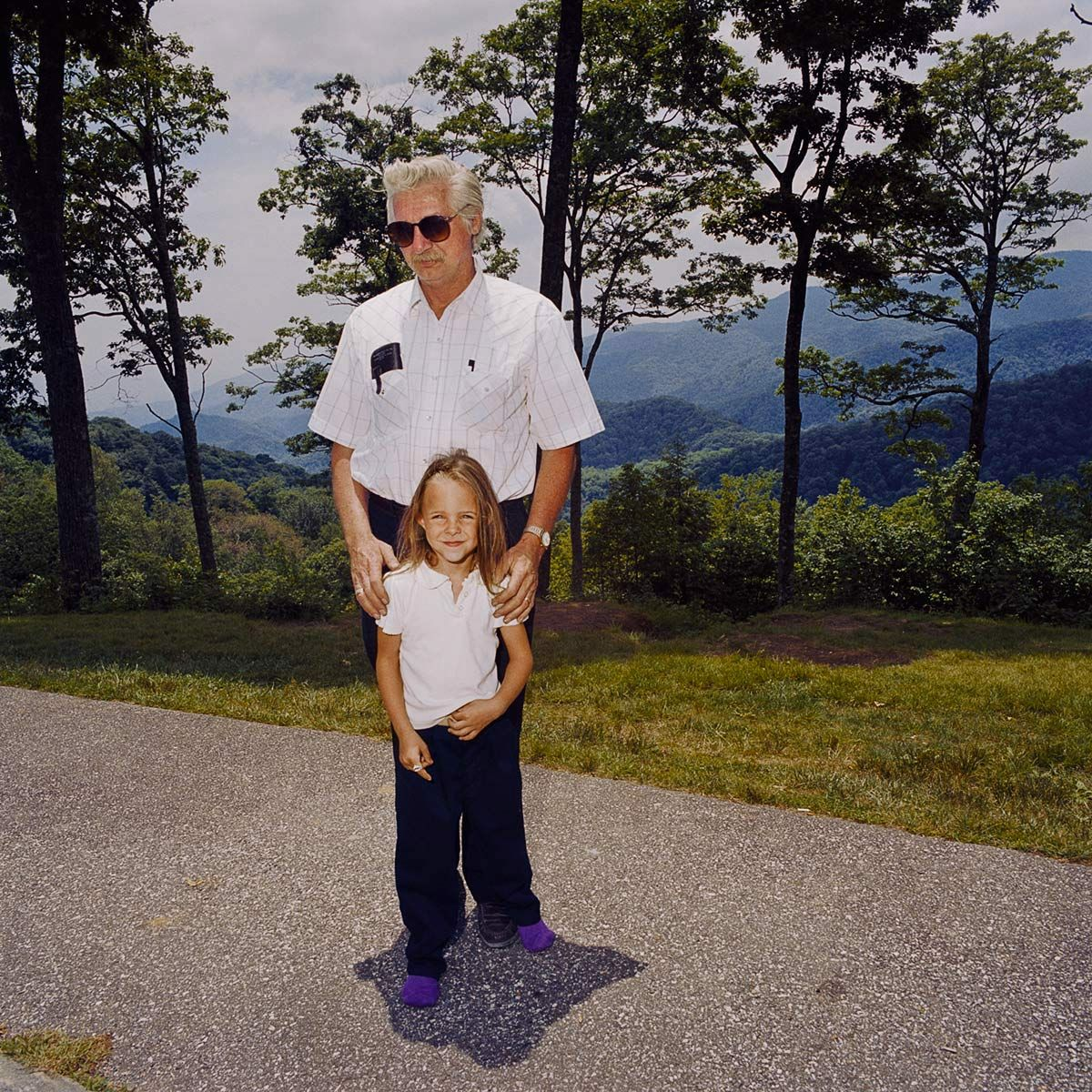 Grandfather and granddaugher, Great Smoky Mountains, NC 1999