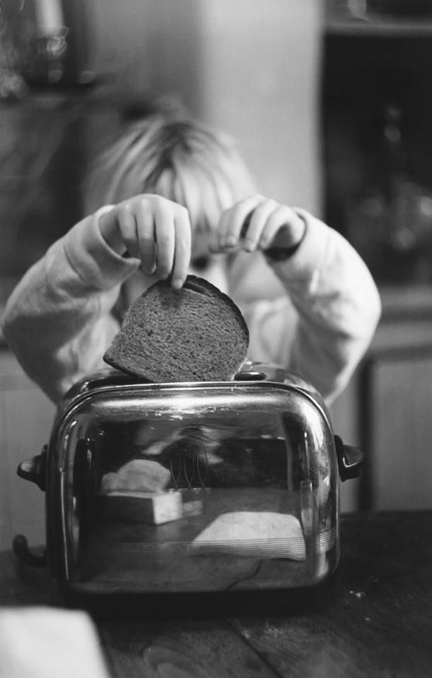 Rondal Partridge - Self-portrait in Toaster, c. 1956