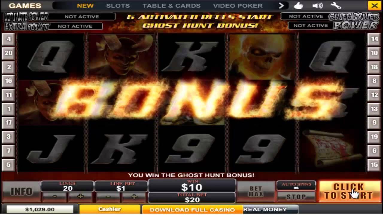 Ghost rider slot online