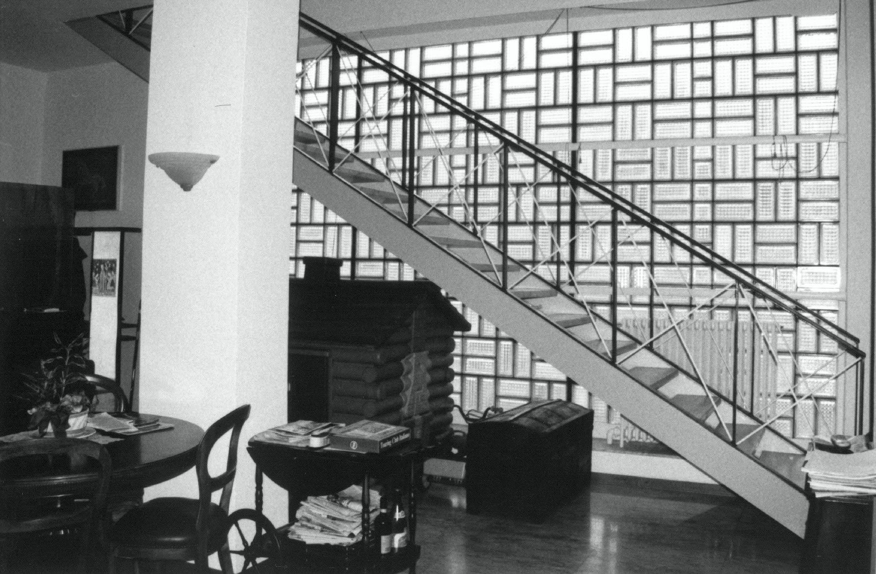Interior View Of Stairs