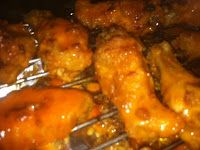 The Pretty Little Chef: Baked Buffalo Chicken Wings