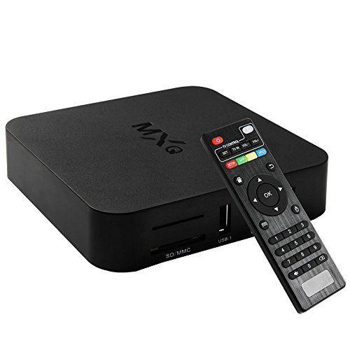 Soyan Mxq Quad Core Android 4 4 2 Tv Box 1g Ram 8g Rom S805