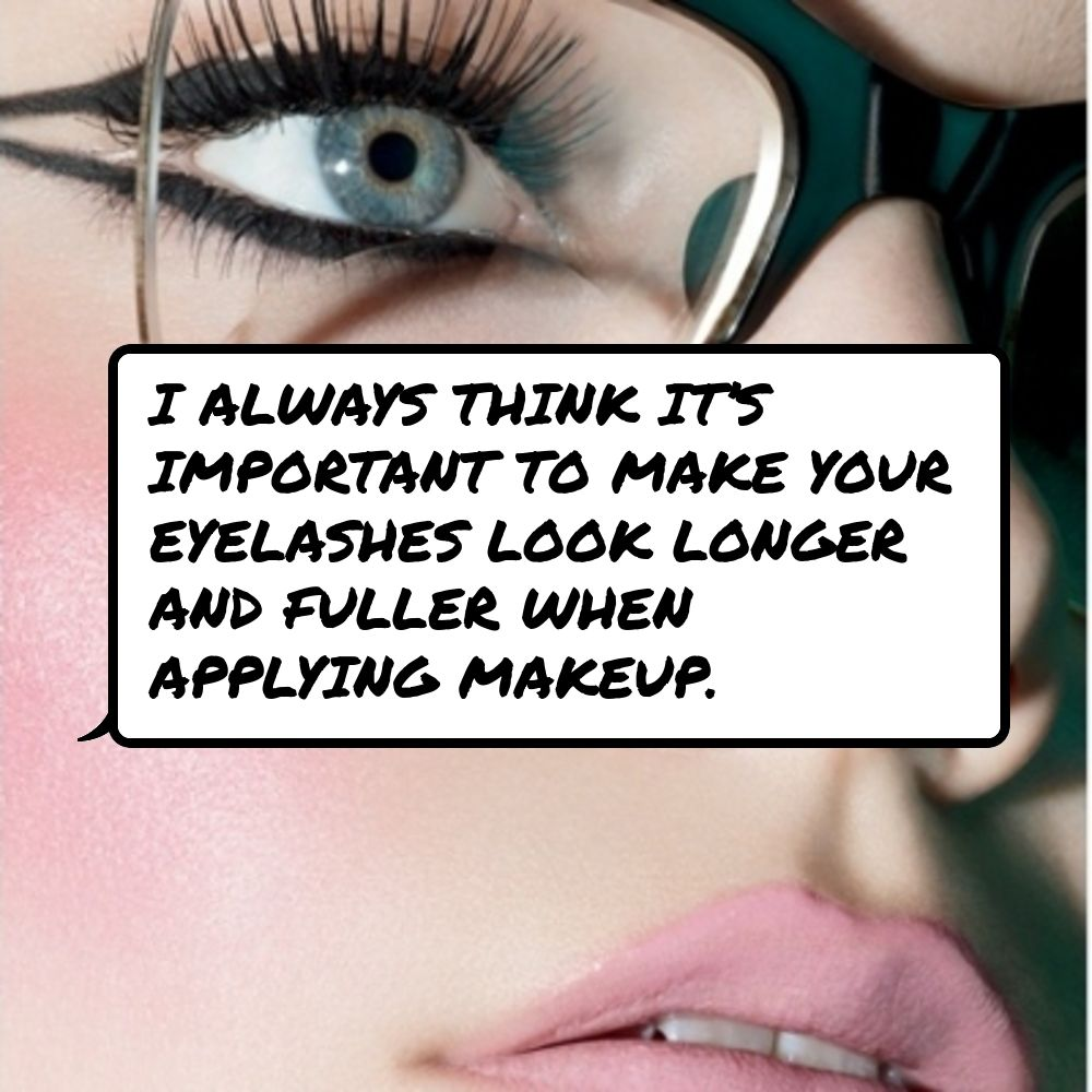 how to make lashes look longer